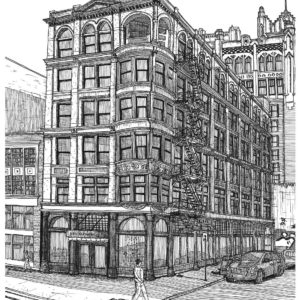 Wright-Kay Building Downtown Detroit
