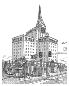 Westward Ho Illustration Art Phoenix